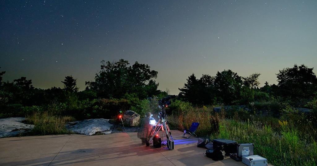 DAMFO - Dark Arts Mobile Field Observatory Phot by Adam Correia
