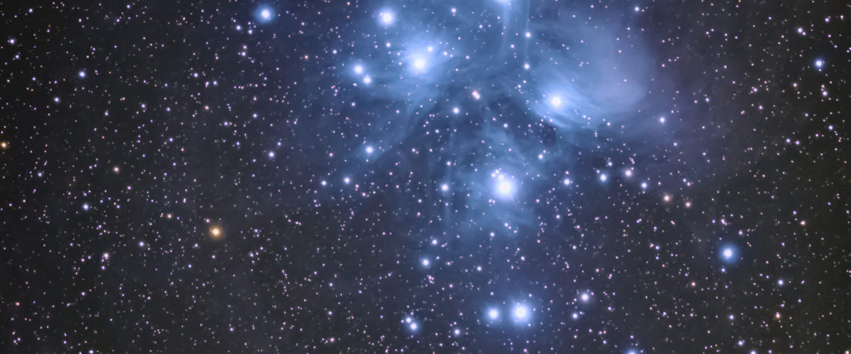 M45- The Pleiades Cluster