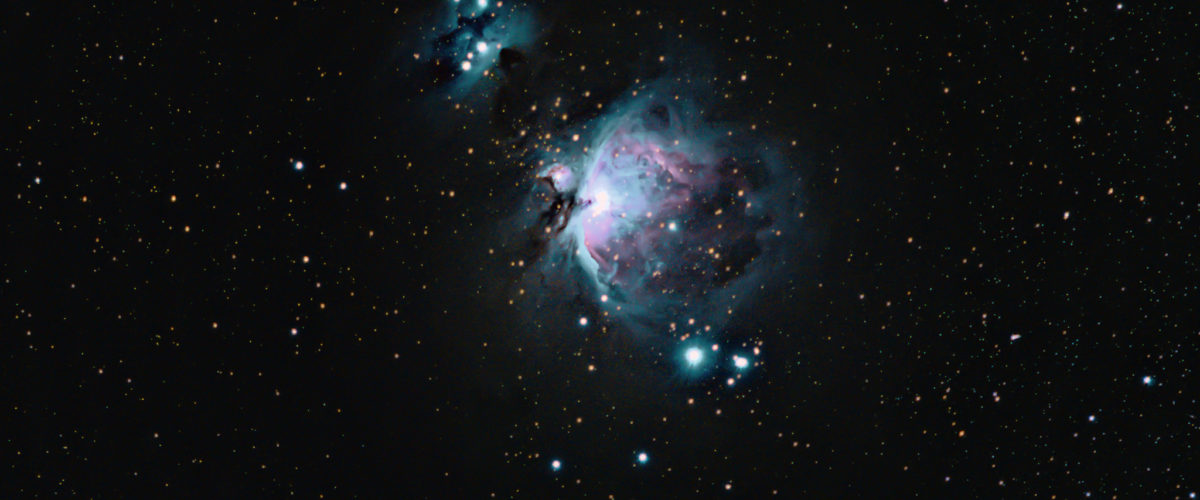 M42 The Orion and Running Man Nebulae