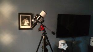 Explore Scientific ED80 mounted on the Star Adventurer